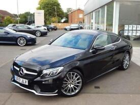 2017 Mercedes-Benz C-Class Sports Coupe C200 AMG Line Premium 2dr 9G-T Automatic