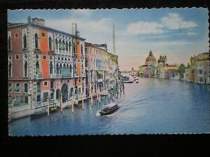 POSTCARD ITALY VENICE VIEW ALONG THE CANAL