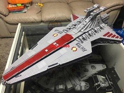 Ucs Star Wars Venator Class Star Destroyer 6125Pcs Custom Compatible   Plaque
