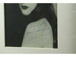 Joan Crawford Framed Signed Photo Lot 109