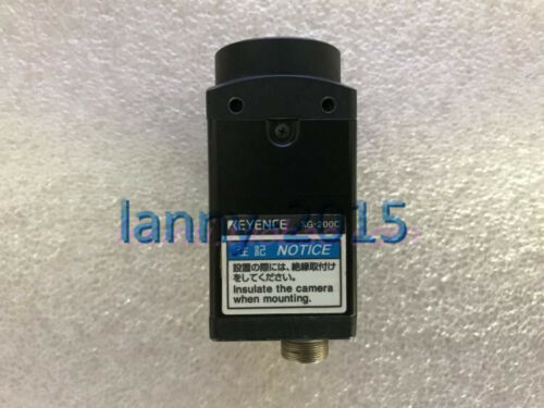 1pc Used Keyence Xg-200c Industrial Camera