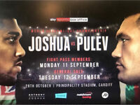 Anthony Joshua vs Pulev