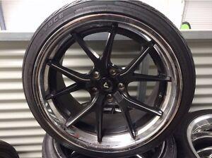Holden AVX-7 Adventus Rims wheels, Forgiato Tyres Wellington Point Redland Area Preview