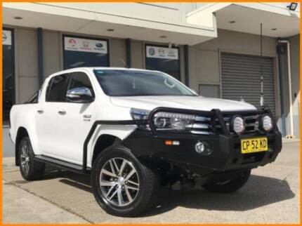 FROM $180 P/WEEK ON FINANCE* 2017 TOYOTA HILUX 4D UTILITY SR5