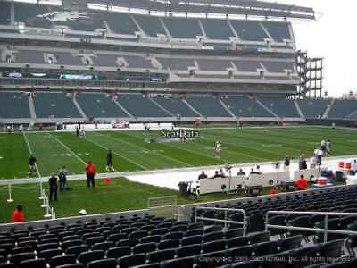 2 PHILADELPHIA EAGLES SBL PSL SEASON TICKETS RIGHTS sec 118 row 4 GREAT SEATS