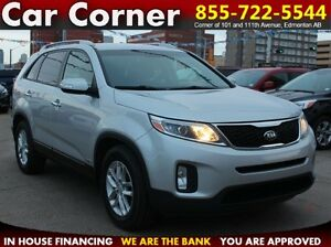 2015 Kia Sorento LX V6 AWD/HEAT-SEATS/FACTORY WARRANTY/$151 B/W!