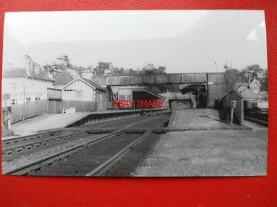 PHOTO  PARKSTONE RAILWAY STATION 16/3/63