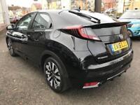 2016 Honda Civic 1.8 i-VTEC SE Plus (Nav) Automatic Petrol Hatchback