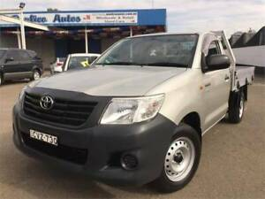FROM $81 PER WEEK ON FINANCE* 2014 TOYOTA HILUX C/CHAS WORKMATE