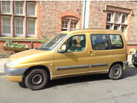 Berlingo Multispace good condition / 3 New Tyres / 12mth Tracking
