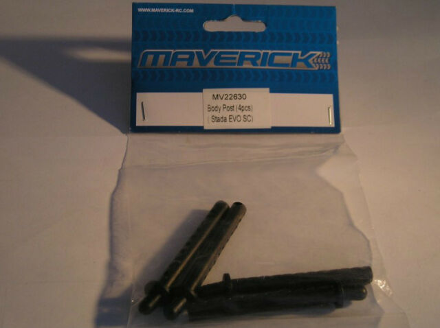 MV22630 HPI Maverick Model Car Spare Parts Body Posts (4Pcs) (Strada Evo SC) New