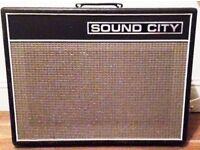 Sound City Amplifier - 2 Channel All Valve Reverb - Bargain
