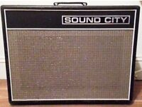 Sound City 40c Amplifier. All Valve! Amazing Tone! Bargain!!