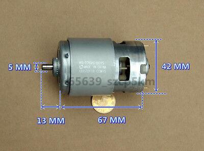 1PC RS-775VC MABUCHI DC Motor DC6-20V 20000RPM High Speed Power Carbon Brush New