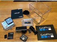 GoPro Hero3+ Black Edition with accessories