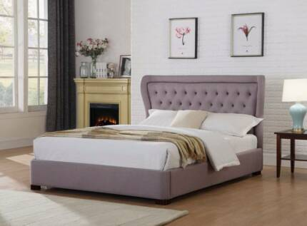 Brand New French Provincia Fabric King Bed.30% Off Save $150