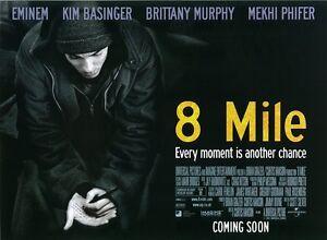 8 MILE movie poster EMINEM - 12 x 16 inches - original ...
