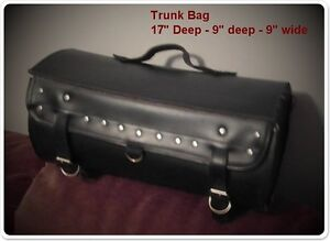 Leather Trunk Bag - Excellent Condition