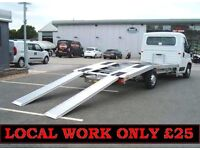 Cheap Car recovery £25 breakdown vehicle collection delivery service