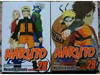 Naruto (Manga) Volumes 28 & 29