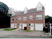 SHEFFIELD, S21, DSS CONSIDERED, Unfurnished Large 3-Bed Townhouse with En-Suite & Garage To Let