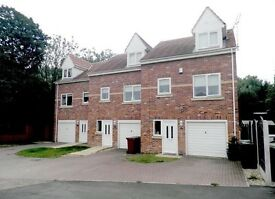 SHEFFIELD, RENISHAW, S21. Large 3-Bed with En-Suite, Recently Decorated Unfurnished Townhouse To Let