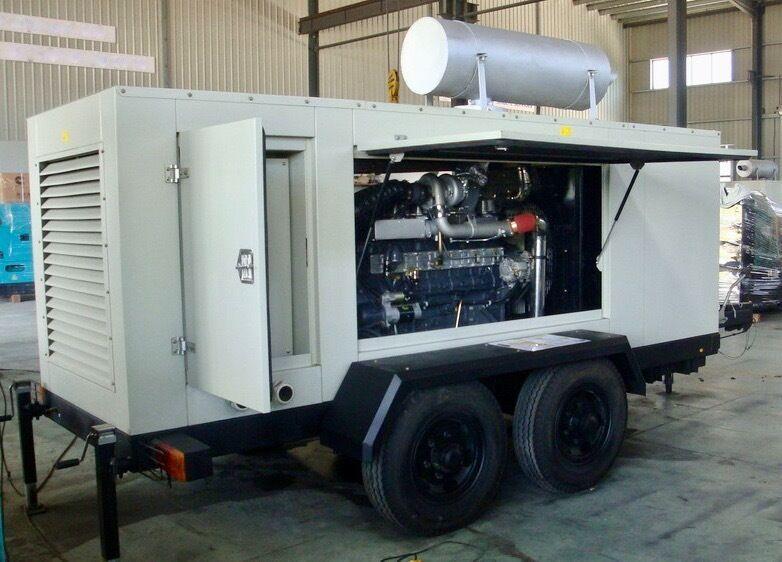 235kva Hyundai Genset A-H260ST-4 Diesel Generators Trailer Mounted *PRICE REDUCED*
