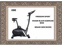 Roger Black Gold Exercise Bike Brand New Boxed