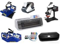 HEAT PRESS BUSINESS START UP printing Equipment ALL YOU NEED EQUIPMENT