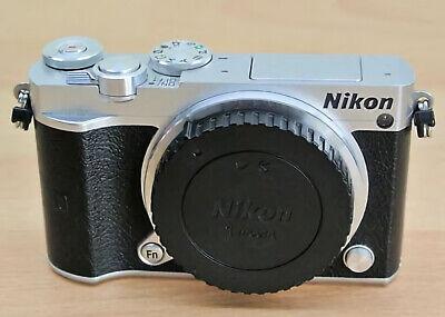 Nikon 1 J5 Mirrorless Digital Camera NO lens - Silver (Body Only)