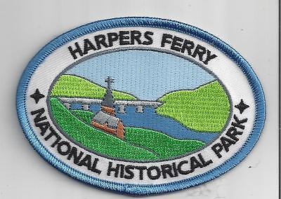 HARPERS FERRY NATIONAL HISTORICAL PARK, WV SOUVENIR PATCH -CIVIL WAR