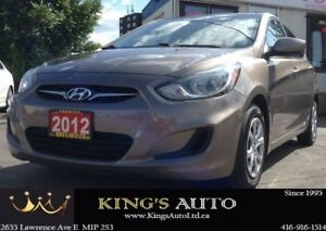 2012 Hyundai Accent GLS, TRACTION CONTROL, ECO MODE, TIPTRONIC T