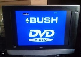 Bush 19in LCD tv, HD Freewview, built in DVD player, HDMI, Scart