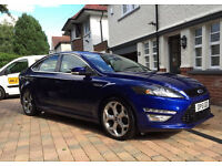 '14' plate Mondeo Titanium X Sport in mid blue with 59,000 miles