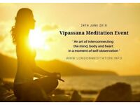 Introduction to Vipassana Meditation Event @ Middlesex University