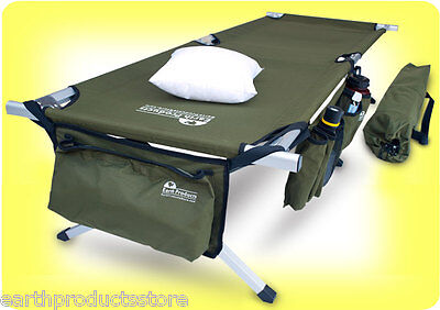 SALE!!! FREE S/H - EARTH JAMBOREE MILITARY STYLE CAMPING COT