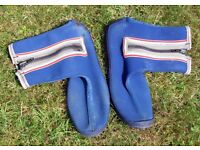 Blue Sealsuit wetsuit boots size 45