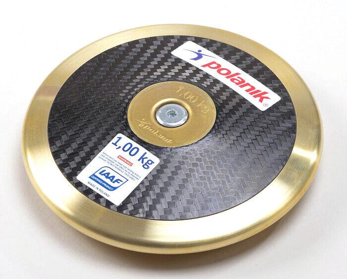 Polanik Premium Carbon Fiber Discus Size: 1.0 KG