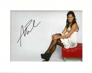 ANA IVANOVIC TENNIS SEXY IN TIGHTS AUTOGRAPH ORIGINAL HAND SIGNED MOUNTED PHOTO