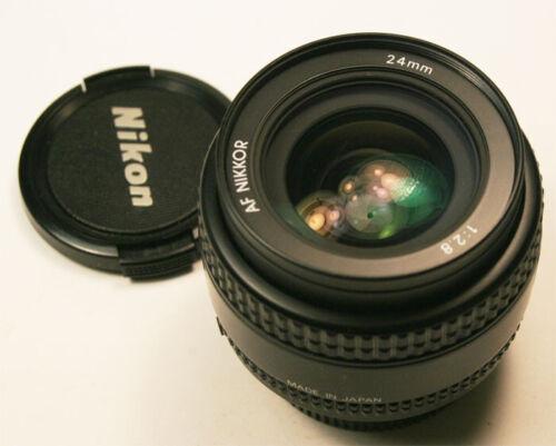Nikon AF Nikkor 24mm f2.8 Lens Mint