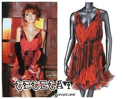 Japan Brand -  Rienda V-Neck Sexy & - Sexy Japanische Kleid