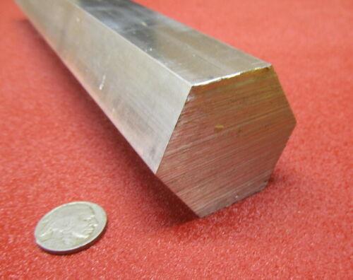 "6061 Aluminum Hex Rod 1.75"" Hex x 3 Ft Length"