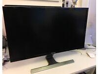 "Samsung 28"" 4K HDMI LED Computer Monitor Display Ultra HD TV DisplayPort LU28D590DS U28E590D"