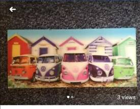 Wooden Camper van picture