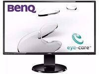 BenQ 27 inch Widescreen Full HD 1080p LED Monitor with Built-in Speakers HDMI DVI VGA