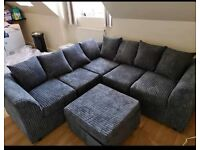BRAND NEW LIVERPOOL JUMBO CORD CORNER OR 3+2 SEATER SOFA SET AVAILABLE