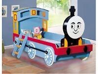 Train Kids Novelty Single Bed Frame