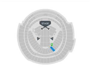 """2 """"Taylor Swift; Reputation Tour"""" Tickets August 4th Toronto"""