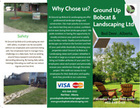 Ground Up Bobcat & Landscaping