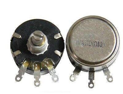 1pcs New Wx110010 2w 4.7k Rotary Taper Potentiometer Wound Potentiometer 5